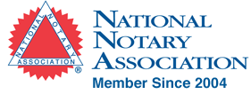 National Notary Association Member since 2004